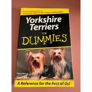 📖Yorkshire Terriers for Dummies📖